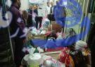 آماده سازی وبارگیری کمکهای مردمی برای سیل زدگان در شهر بهاران :تصاویر