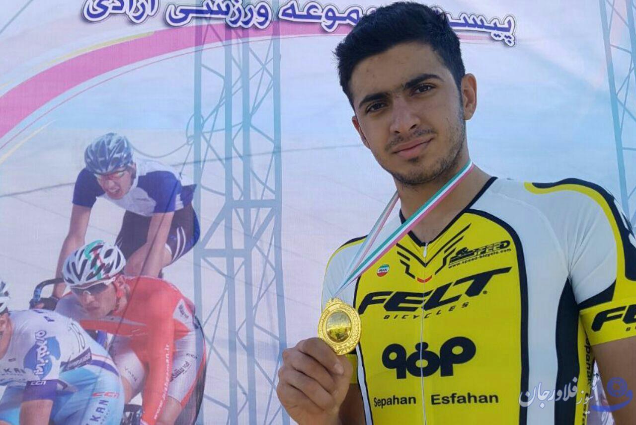 حضور دوچرخه سوار قهدریجانی درترکیب تیم ملی دوچرخه سواری جاده در قهرمانی آسیا