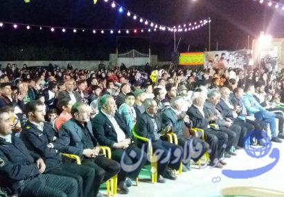 برگزاری جشن نیمه شعبان در پارک شقایق روستای بوستان