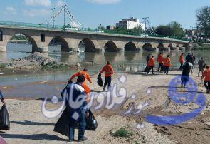 برگزاری مراسم گرامی داشت روز زمین پاک در فلاورجان