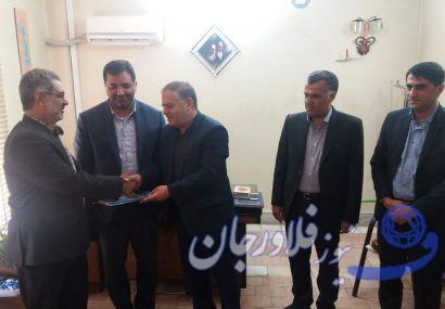 مدیر سازمان حمل و نقل جمعی شهرداری های شهرستان فلاورجان منصوب شد
