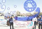 گزارش تصویری :راهپیمایی روز قدس درشهر پیربکران