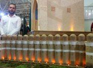 بازآفرینی بنای برج کبوتر خانه کلیسان در مقیاس یک بیستم