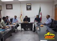 جلسه رئیس واعضای شورای اسلامی شهر فلاورجان با رئیس کلانتری ۱۱