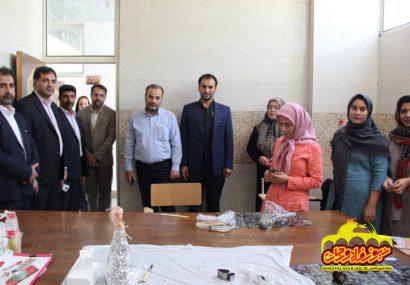 بازدید سر زده شهردار و اعضای شورای اسلامی شهر فلاورجان از فرهنگسرای غدیر +تصاویر