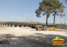 محوطه سازی و زیبا سازی حاشیه زاینده رود در شهر فلاورجان  با اعتبار ۱۰ ملییارد ریال