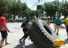 مسابقه قوی ترین مردان درفلاورجان برگزار شد