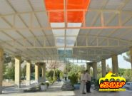 افتتاح طرح مسقف سازی گلزار شهدای کلیشاد و سودرجان+تصاویر