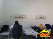 عزاداران قهدریجانی ۱۶۰ واحد خون اهدا کردند +تصاویر