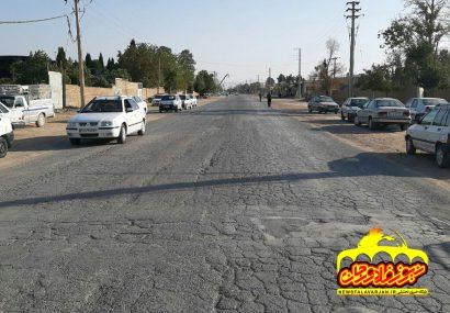 مردم شهر زازران خواستار رسیدگی به وضعیت جاده زازران به خمینی شهرشدند.