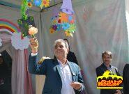 زنگ شکوفهها در مدارس پیربکران نواخته شد+تصاویر