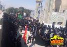 همایش پیاده روی جاماندگان اربعین به طرف  آستان امامزاده سید محمد (ع )قهدریجان