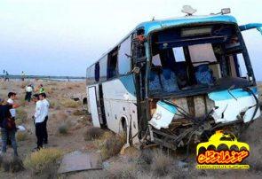 فوت یک زائر فلاورجانی در حادثه تصادف ۲ اتوبوس عراقی
