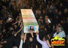 مراسم وداع با سردارشهید «محمود توکلی» در مصلی فلاورجان +تصاویر