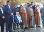 گزارش تصویری/غبارروبی و عطرافشانی گلزار شهدای فلاورجان با حضور نماینده رئیس قوه قضاییه