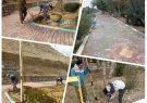 اجرای طرح بهسازی مبلمان شهری کلیشادوسودرجان