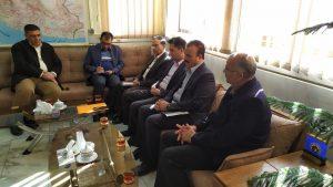 بازدید مدیرعامل شرکت گاز استان اصفهان از ادارات نواحی گاز فلاورجان