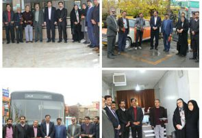 مراسم  گرامیداشت روز حمل و نقل با حضور مدیران شهری و فعالان عرصه حمل و نقل در فلاورجان برگزار شد.
