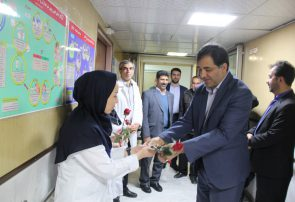 تجلیل از پرستاران بیمارستان امام  خمینی (ره ) شهر فلاورجان  به روایت تصویر