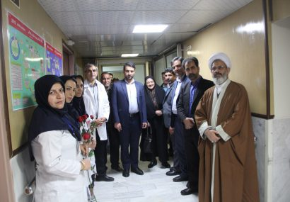 دیدار با پرسنل و پرستاران بیمارستان امام خمینی(ره) شهر فلاورجان