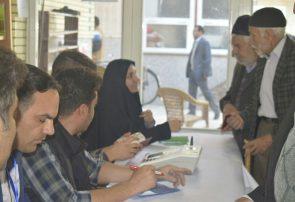 جلوههای حضور مردم در ساعات  اولیه انتخابات در پای صندوقهای رای