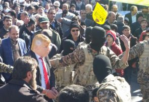 مراسم راهپیمایی ۲۲ بهمن در فلاورجان