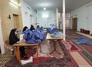 راه اندازی دومین کارگاه تولید ماسک و لباس بهداشتی درقهدریجان