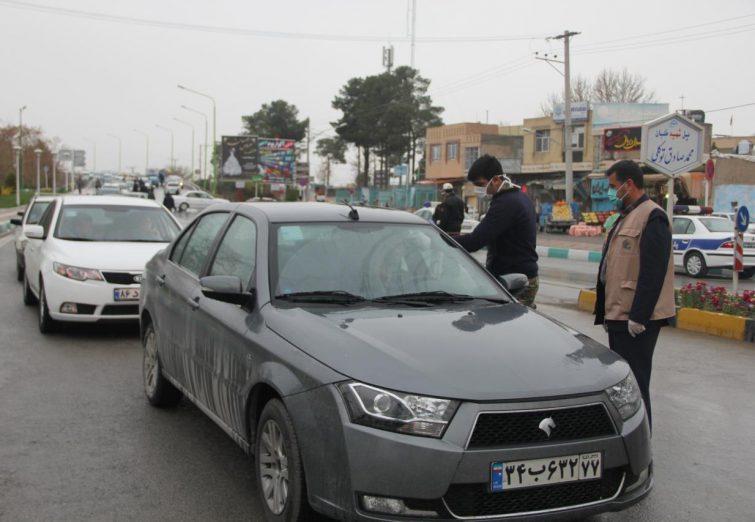 طرح غربالگری در ورودی و خروجی های شهر فلاورجان