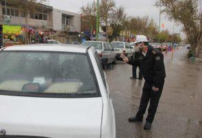 طرح غربالگری در ورودی و خروجی های شهر فلاورجان +تصاویر