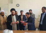 کارگاه تولید ماسک در شهر قهدریجان  راه اندازی شد