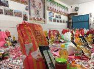 توزیع ۴۰ بسته معیشتی بین نیازمندان روستای طاد