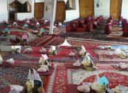 توزیع ۶۰ بسته معیشتی بین نیازمندان روستای تمندگان