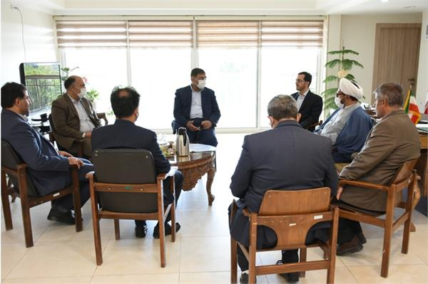 دیدارمسئولین فلاورجان  با مدیرکل فرهنگ و ارشاد اسلامی استان اصفهان