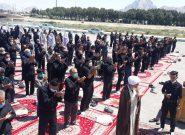 نماز ظهر عاشورا در شهر فلاورجان +تصاویر