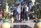 گلباران مزار مطهر شهدای ایمانشهر در هفته دفاع مقدس/ تجلیل از کادر درمان ایمانشهر