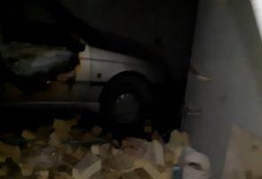چهار زخمی در پی انفجار کپسول گاز خودرو در قهدریجان