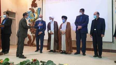 آیین تکریم و معارفه دادستان عمومی و انقلاب شهرستان فلاورجان برگزار شد.