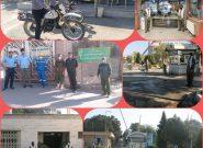"""""""رزمایش دفاع از مقر"""" در شهرستان فلاورجان برگزار شد"""