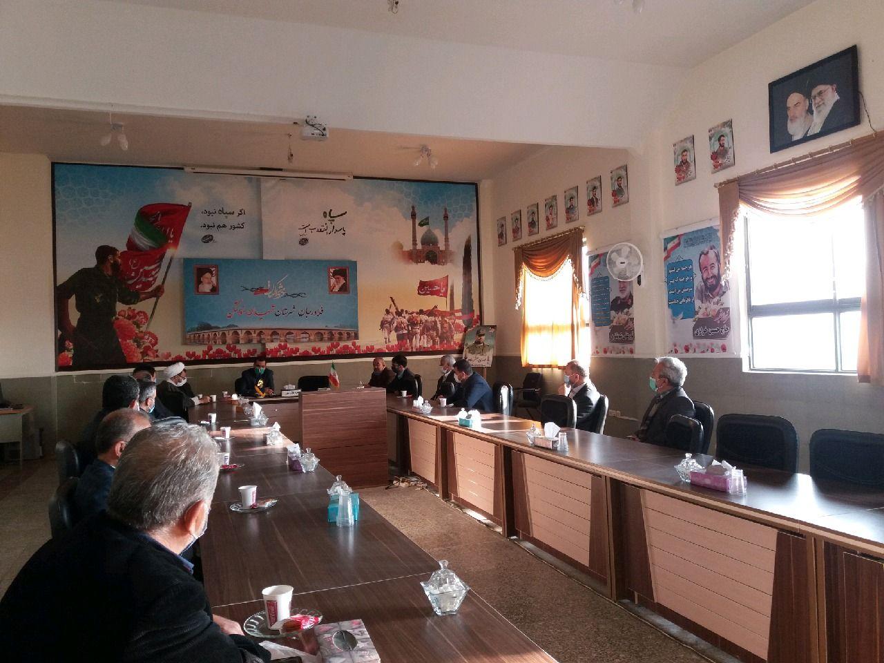 تشکیل سفیران سلامت و همیاران بازرسی در بسیج اصناف فلاورجان