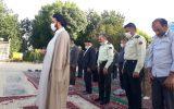 گزارش تصویری/اقامه نماز عید فطر در جوار امامزاده سیدمحمد قهدریجان