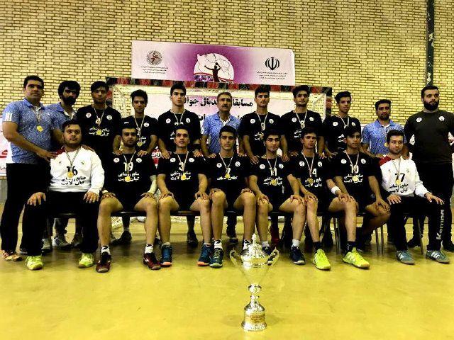 قهرمانی تیم هندبال فلاورجان در رقابت های هندبال جوانان کشور/فلاورجان مهد هندبال ایران