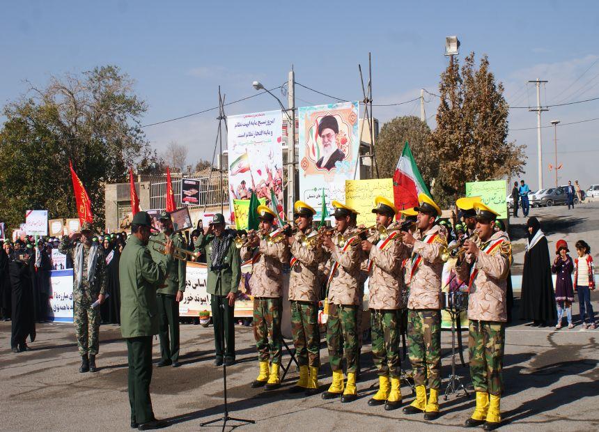 فیلم :همایش بزرگ شکوه اقتداربسیج شهرستان فلاورجان