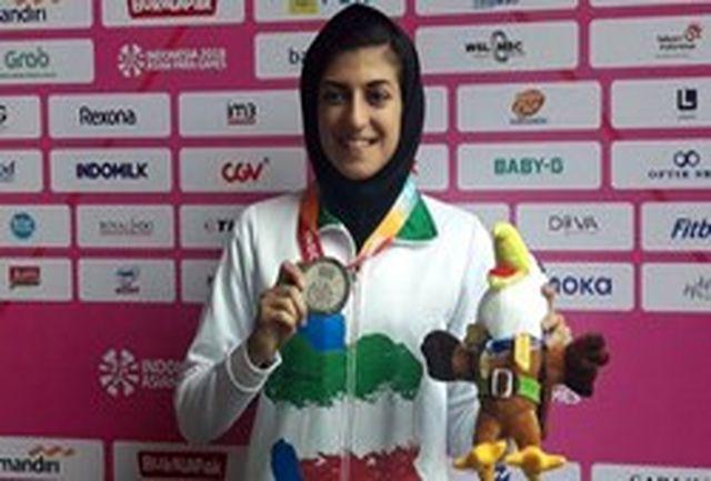 کسب مدال نقره مسابقات پارآسیایی ۲۰۱۸ جاکارتا توسط ورزشکار قهدریجانی