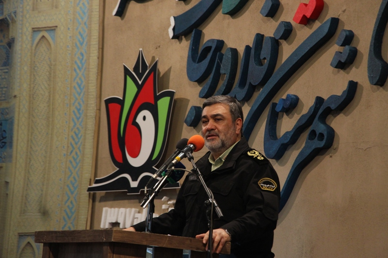 گزارش تصویری حضور فرمانده ناجا در کنکره ملی سرداران و ۱۴۰۰ شهید خط شکن شهرستان فلاورجان