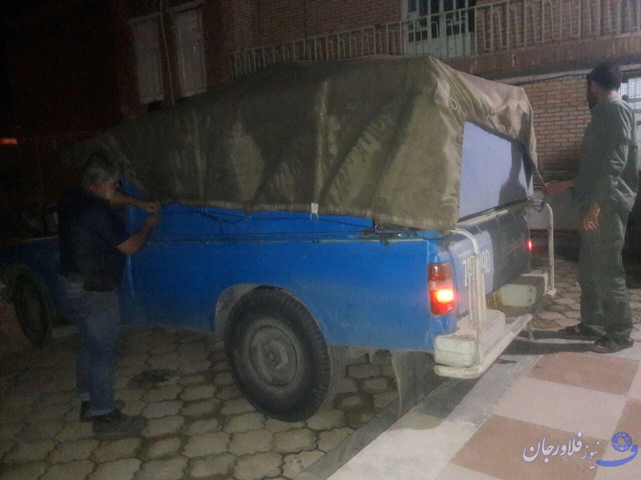 دومین محموله کمک های مردم روستای هویه به سیل زدگان ارسال شد