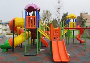 مسدود بودن تنها پارک تفریحی شهر پیربکران +ویدئو