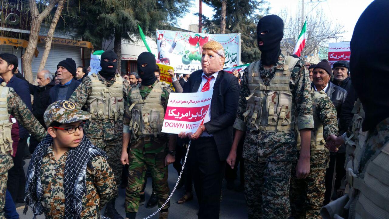 حضور «ترامپ» در راهپیمایی ۲۲ بهمن + عکس