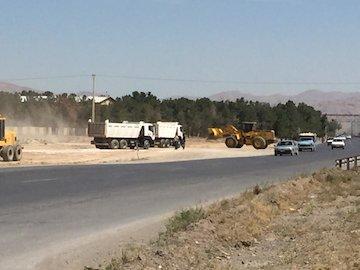 احداث پل زیرگذر باکسی در بزرگراه فولادشهر_مبارکه