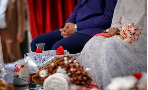 زوج جوان جولرستانی هزینههای جشن عروسی خود را صرف مبارزه با کرونا کردند.