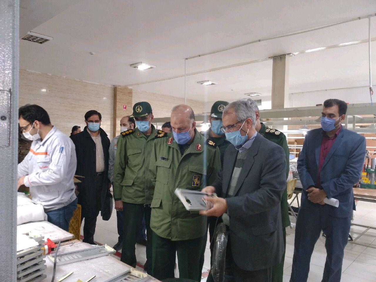 افتتاح پایگاه بسیج سردار شهید علی منتظرین در شهرک صنعتی اشترجان